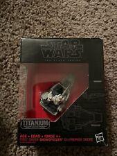 Star Wars The Black Series Titanium First  Order Snowspeeder