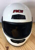 RCI Snell M2000 DOT Full Face White Motorcycle Helmet