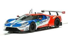 New Scalextric C3857 Ford Gt Gte Le Mans 2017 No.68 1/32 Slot Car Free Us Ship
