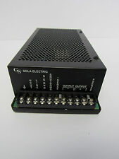 GS SOLA ELECTRIC 86-24-262 RECTIFIER POWER SUPPLY