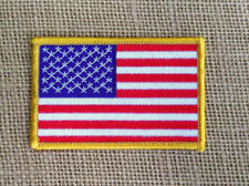 American Flag  USA Stars and Stripes EMBROIDERED Iron on sew on PATCH