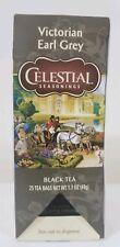 Celestial Seasonings Victorian Earl Grey Tea, 25 Count, BRAND NEW