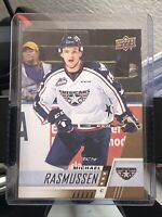 2017-18 Upper Deck CHL Pre Rookie #100 Michael Rasmussen, Detroit FREE SHIPPING