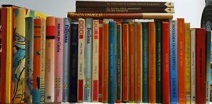 LB- LOTTO STOCK BLOCCO 33 LIBRI ILLUSTRATI PER RAGAZZI OFFERTA- 1970- C- RFS4