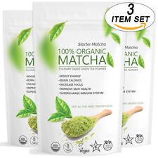 Matcha Outlet Starter Green Tea Powder (3 x 12oz) FREE 1-3 DAY USA Shipping