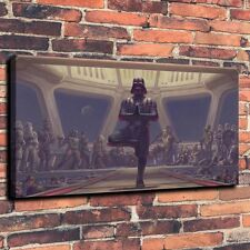Home decor Art Quality Canvas Print Oil Painting Star Wars Darth Vader Sith24x46
