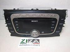 Stereo Autoradio Sony Cd Mp3 Ford Mondeo 2.0 TDCI 140CV 2009 VP6M2F18C821AG