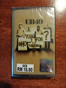 UB40 - Who You Fighting For - Malaysia Original Press Cassette (Brand New)