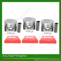Piston + Ring Kit Set STD 67mm for Kubota  D722 (100% Taiwan Made) x 3 PCS