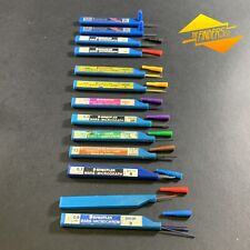 MASSIVE LOT x13 STAEDTLER MARS MICROGRAPH MICROCHROM PENCIL LEADS IN TUBES