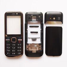 Full Housing Cover Case For Nokia C5 Front Frame+keypads