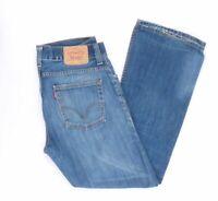 Levi's Levis Jeans 512 W33 L32 blau stonewashed 33/32 Bootcut -B3656