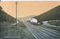 Postcard - Conway Road Colwyn Bay Wales posted