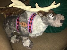 Disney Frozen Sven Reindeer Elk Stuffed Plush Animal Deer 16 Inches