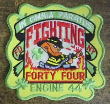 MANHATTAN NYC N.Y. ENGINE 44- FDNY FIRE/RESCUE DEPARTMENT PATCH! NEW YORK