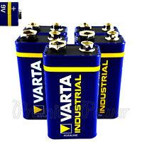5 x Varta 9V batteries Alkaline Industrial 6LR61 E-Block 4022 LR22 PP3 MN1604