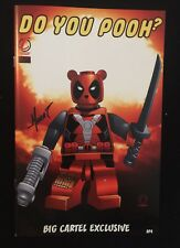 Do You Pooh 1 Lego Big Cartel ExClusive Variant  Signed Marat Mychaels AP4!
