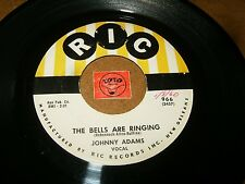 JOHNNY ADAMS - TEACH ME TO FORGET - THE BELLS ARE RINDINGS / LISTEN / BALLAD