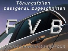 Tönungsfolie passgenau Mercedes A-Klasse (W169) / 5-türer ´04-´12