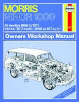 Morris Minor 1000 1956-1971 998cc 1098cc Petrol Haynes Manual 0024 NEW