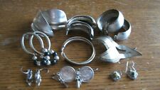 sterling Silver Earring Lot