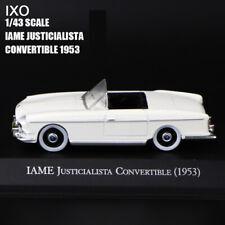 1/43 IXO IAME JUSTCIALISTA CONVERTIBLE(1953) Diecast Car Model Rare Collection