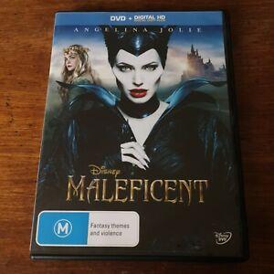 Maleficent Disney DVD R4 Like New! FREE POST