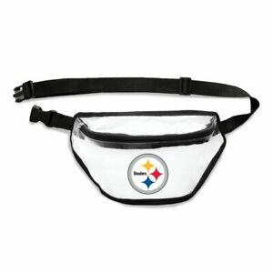 Pittsburgh Steelers Little Earth Clear Fanny Pack Stadium Friendly