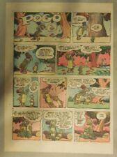 Pogo Sunday by Walt Kelly from 5/5/1957 Tabloid Size!