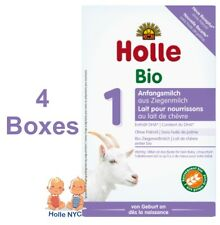 Holle Goat Milk Stage 1 Organic Formula with Dha 4 Boxes 400g Free Shipping