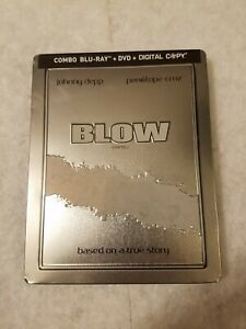 BLOW STEELBOOK Blu Ray Canadian (Small Dings) Limited Ed RARE SOLD OUT SEALED