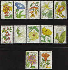 Surinam / Suriname 1983 Maria Sibylle Merian flowers blumen fleur MNH