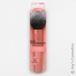 "1 REAL TECHNIQUES Makeup Brush - HD Powder Brush ""RT-1401""  *Joy's cosmetics*"