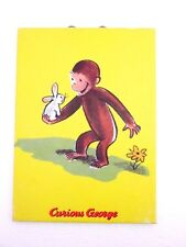 Curious George Holds a Bunny 20x24 Art Print by H. A. Rey 1 of 4 series Prints