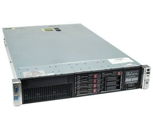 HP ProLiant DL380 G8 Dual Xeon E5-2620 Processors 2U Rkmt Server w/ 64GB Memory