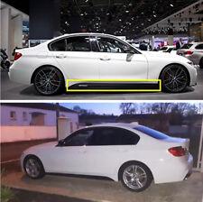2.15M Carbon Fiber Look Car Side Skirt Decal Stripe Sticker for BMW 3 4 5 Series