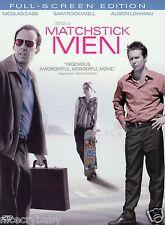 Brand New Sealed Matchstick Men Dvd 2004 Movie Nicolas Cage Rockwell Lohman