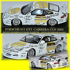 PORSCHE 911 996 GT3 Carrera Cup 2005 #27 warnecke Campeón Mundial 1:43