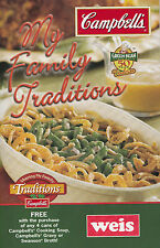 MY FAMILY TRADITIONS WEIS MARKET COOKBOOK RECIPES USE POPULAR NAME BRAND PRODUCT