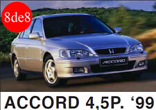 Honda Accord 4/5P (1999) - Manual de taller en CD