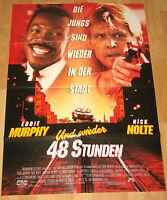 "Und wieder 48 Stunden ""Another 48 Hrs"" Filmplakat / Poster A1 ca.60x84cm"