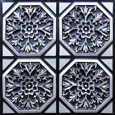 Home Remodel & Decor with Glue Up Ceiling Tiles #108 - Antique Silver
