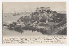 USA, Beacon Rock, E.D. Morgan Residence, Newport RI 1904 Postcard, B120