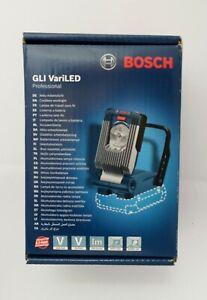 Bosch GLI 18v VariLED Work Light LED Torch & case NEW & SEALED