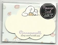 Sanrio Cinnamoroll Notecards With Envelopes Stickers Message Cards Bear