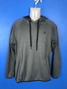 Champion Performance hoodie Duofold WarmCtrl large grey