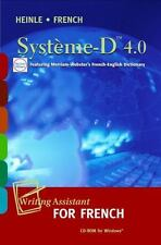 SYSTEME-D 4.0 CD-ROM: WRITING ASSISTANT FOR FRENCH By James S. Noblitt BRAND NEW