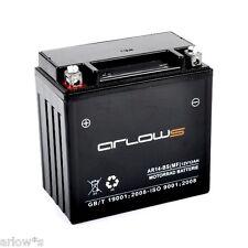 arlows Batería de GEL ar14-bs BUELL S1 1200 Lightning Blanco 1996-1999 NUEVO 12v