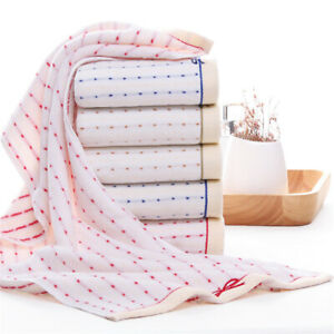 Hand Towels Face Towels Large 13 x 28 Inches Cotton 500 GSM 2pcs/lot Towels set