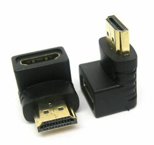 Right Angle HDMI Cable Adapter Male to Female Connector 270 90 Degree FIRE STICK